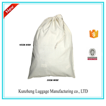 Custom cheap small dust cotton drawstring shoes bags wholesale