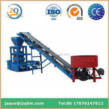 QT4-30 low investment Automatic cement block making machine sale in ethiopia