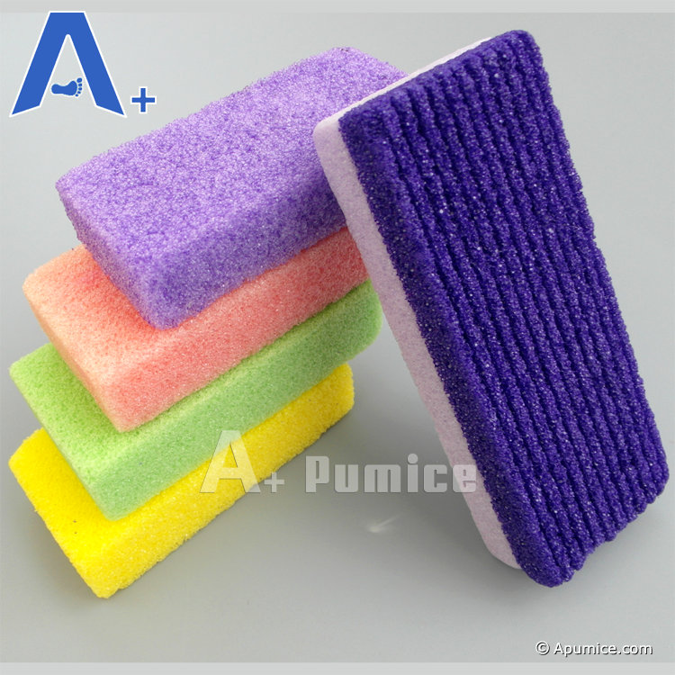 Salon Pedicure Purple Mini Disposable Pumice Bar For Foot
