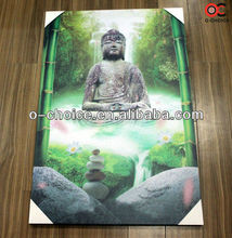 WK-37 Modern Buddha Oil Painting On Canvas India