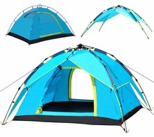 portable waterproof Automatic Open Outdoor 2 Person Double Layer Instant Camping Family Tent