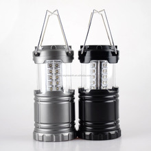 2017 hot sale Black Collapsible Portable Outdoor LED Camping Lantern