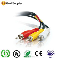 High speed 3RCA to 3RCA Stereo AV Audio Video extension Cable 3ft 6ft 10ft 15ft 20ft 30ft
