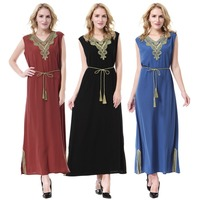 arabic thobe muslim night dress women kaftan