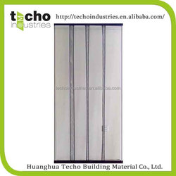 durable hand sewn seaming metal chain door curtain