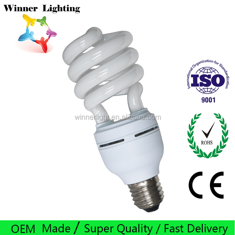 Compact Fluorescent Lamp E14 & E27 Full spiral Energy saving lamp cheap price