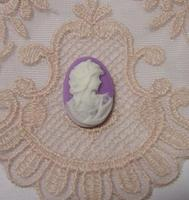 Wholesale 100 pcs. Wintage style cameo 13X18mm no. 9