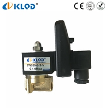 2W Series Time Adjustable Solenoid Valve With Timer