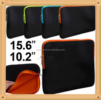 Soft Neoprene sleeve case bag for ipad 2 with Zipper