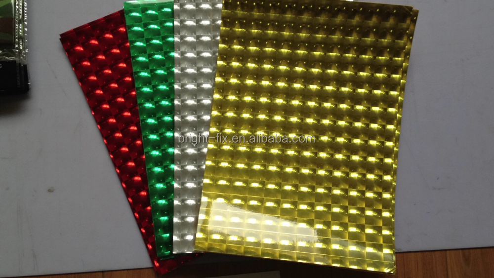 New design 3D cat eye film on eva sheet , eva foam sheet, eva roll