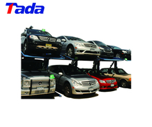 double car parking system stacker lift