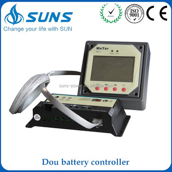 Factory supply lithium ion pwm solar panel charge controller with usb