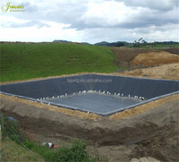 tank cover roll fish farm pond liner hdpe geomembrane