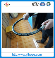professional rubber high quality rubber hose concrete vibrator high pressure hydraulic hose