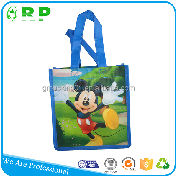 BSCI ISO eco fabric foldable shopping promotional non woven bag