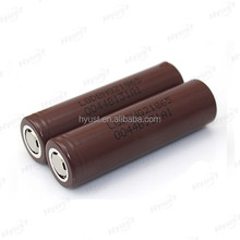 Brown lg battery 18650 hg2 35amps 3000mah LGDBHG21865 35A rechargeable battery