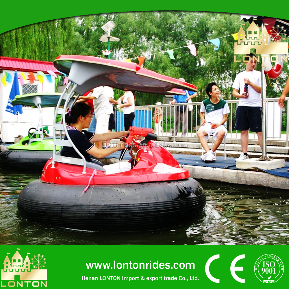 Water sports!interesting amusement rides direct supplier adult bumper boat for sale