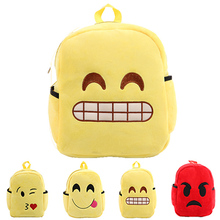 2018 wholesale cheap school backpack emoji sport bags for children