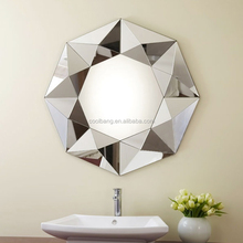 Cheap large decorative star shaped venetian wall mirror decorative set