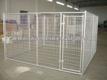 Heavy duty steel dog kennels/dog cage/dog house