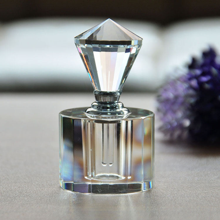 New Arrival unique design custom crystal perfume bottle from <strong>manufacturer</strong>