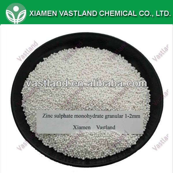 Biggest manufacturer of zinc sulphate granular 0.5 hot sale high quality