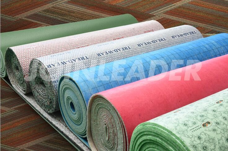 Good quality 12mm PU foam carpet underlay for UK market