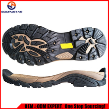 mountaineering shoe outsole TPR + EVA sole designer for men and women