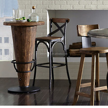 Popular internet cafe chairs metal frame chair industrial bar stool