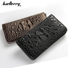 New design cutom logo cheap purse leather crocodile wallet phone case