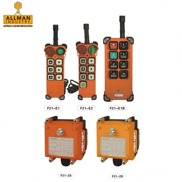 F21 F24 series TELECRANE / TELECONTROL radio remote controller for cranes