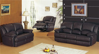 Home furniture elegant 1+2+3 leather sofa set(FOH-SF2636)