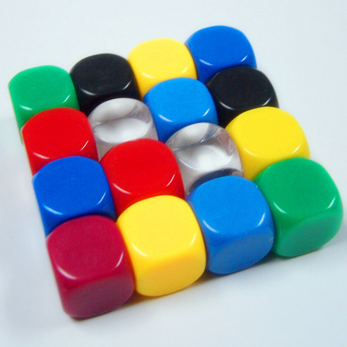 2015 New Design Bulk Dice Wholesale 6 Side Customized Blank Dice