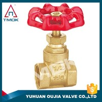 2 inch knife brass gate valve prolong BSP thread forging copper gate valve