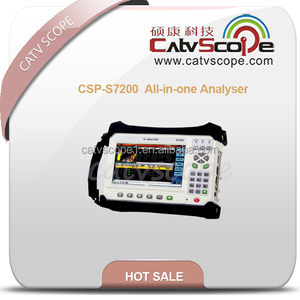 CSP-S7200 CATV DVB-T/T2/C/C2/H/S/S2/8VSB all in one analyser QAM analyzer China manufacturer offer provider cheap new design