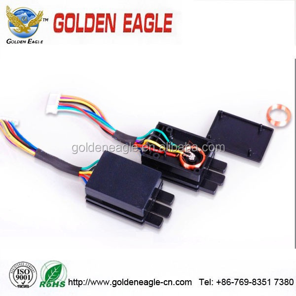 custom multilayer level wound type induction coil / copper wire and plastic bobbin assembly from china supplier