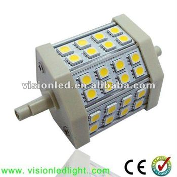 High Lumen 5W LED 78mm R7S