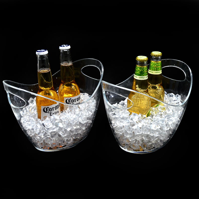 High quality acrylic ice bucket for bar or home