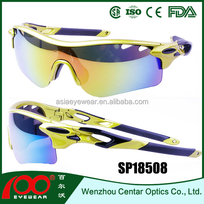 China wholesale youth sports sunglasses , colorful sports sunglasses