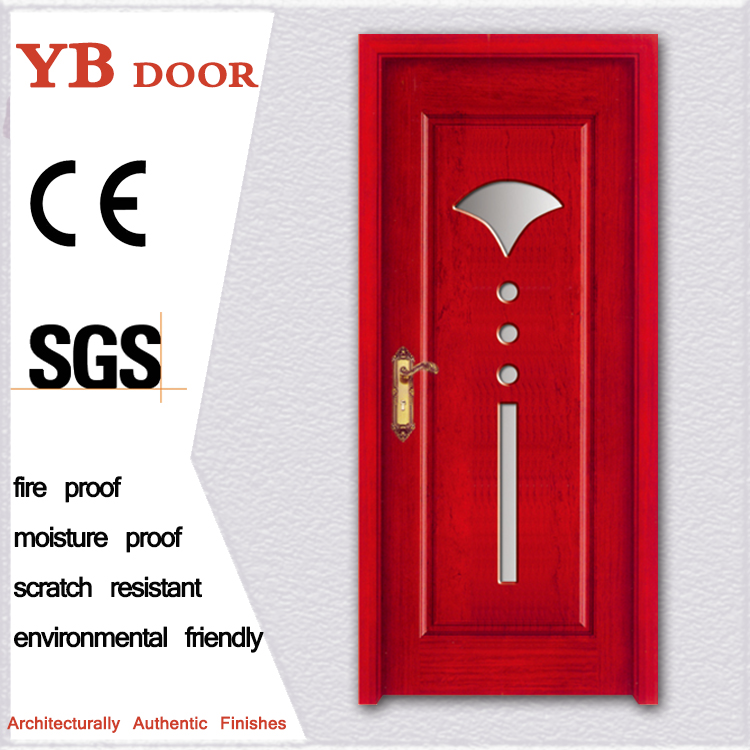 veneer plastic interior wood swinging doors italian YBPD 6497