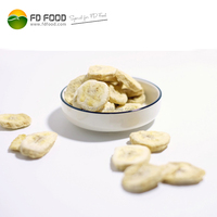 Well Sold Dried Fruit Snack All Natural Freeze Dried Banana Fruit