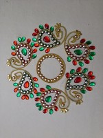 Acrylic Designer Rangoli 127 Home Decor Festive Marriage Decoration Return Gift Hand made Handicraft Online Shopping India