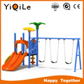 YIQILE super tube slide park slide and swing for sale