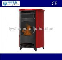 beaty appearance indoor used pellet Fireplace, biomass fuel water heating royal pellet fireplace
