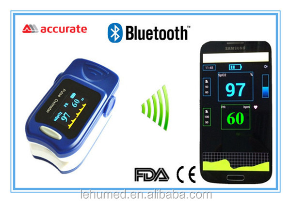 Bluetooth Pulse Oximeter,medical device