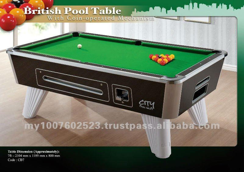 City British Pool Table