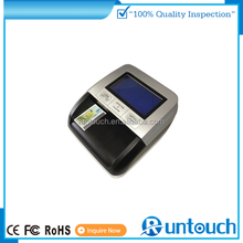 Runtouch Fake Money Detector Counting Machine with UV+MG/MT+IR+SIZE detection Loose Note Counter Banknote Counter