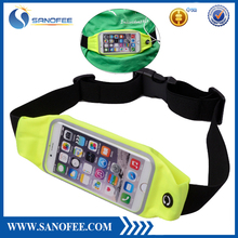 Sports Running Waist Pack Runner Belt with Headphone Port and Touchscreen Compatible