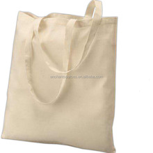 Cheap organic cotton canvas totes bags