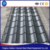 Professional colored coated steel roofing tiles Galvanized Corrugated Roofing Tile Steel Plate price
